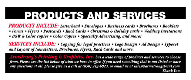 Products & Services ad