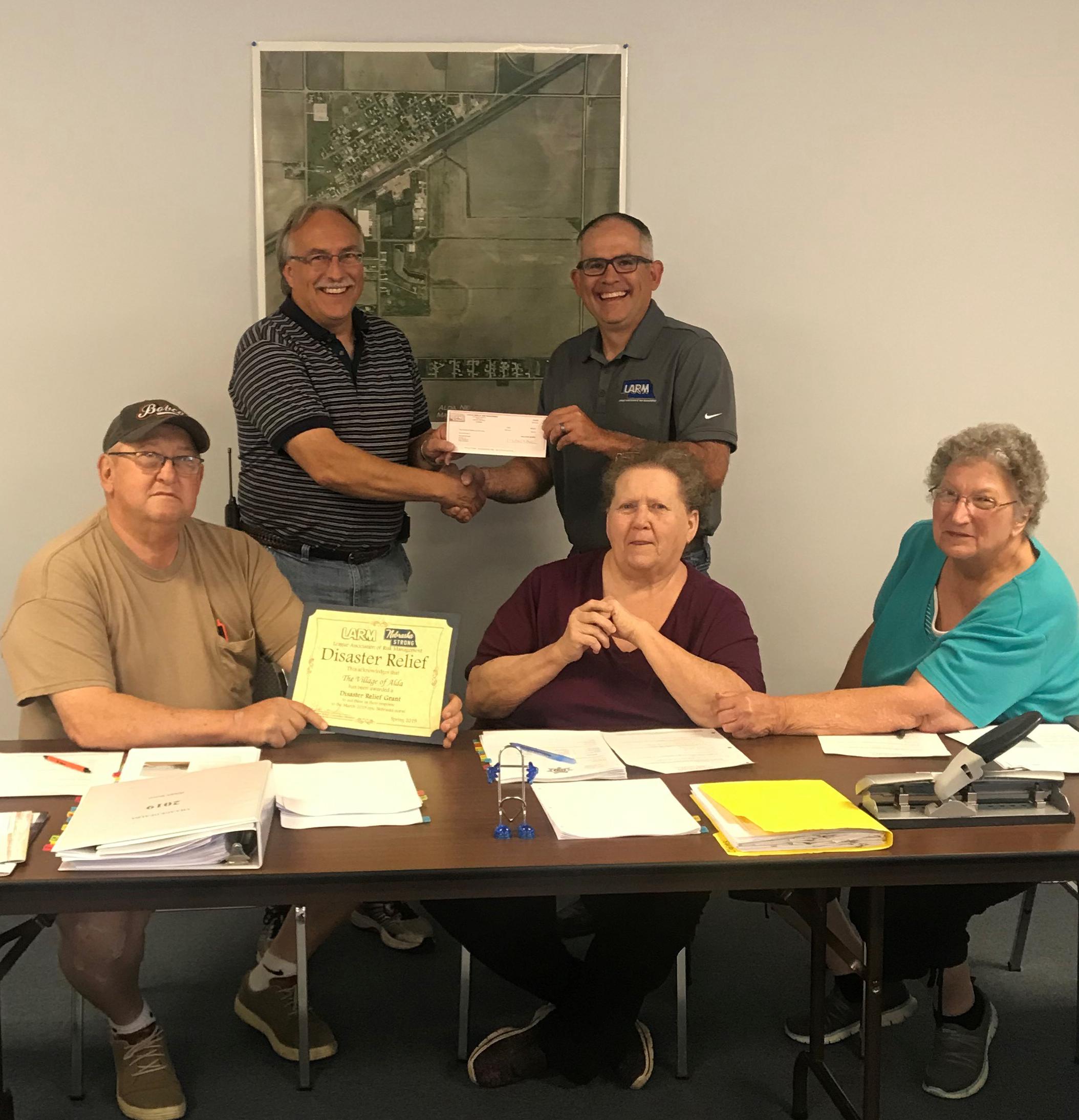 Village of Alda recipient of $500 Disaster Relief Funds