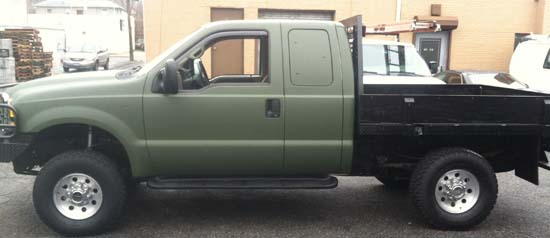 Matte Military Green Pick Up Tuck