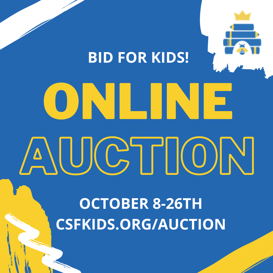 Online Auction Continues Through October 26th!