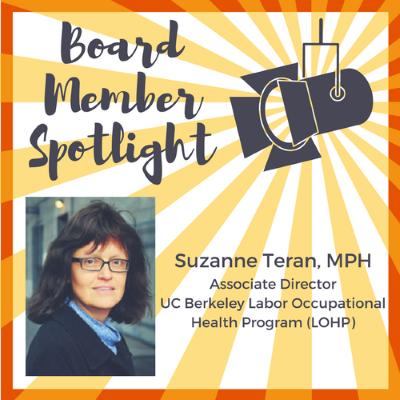 Meet the Board: Suzanne Teran
