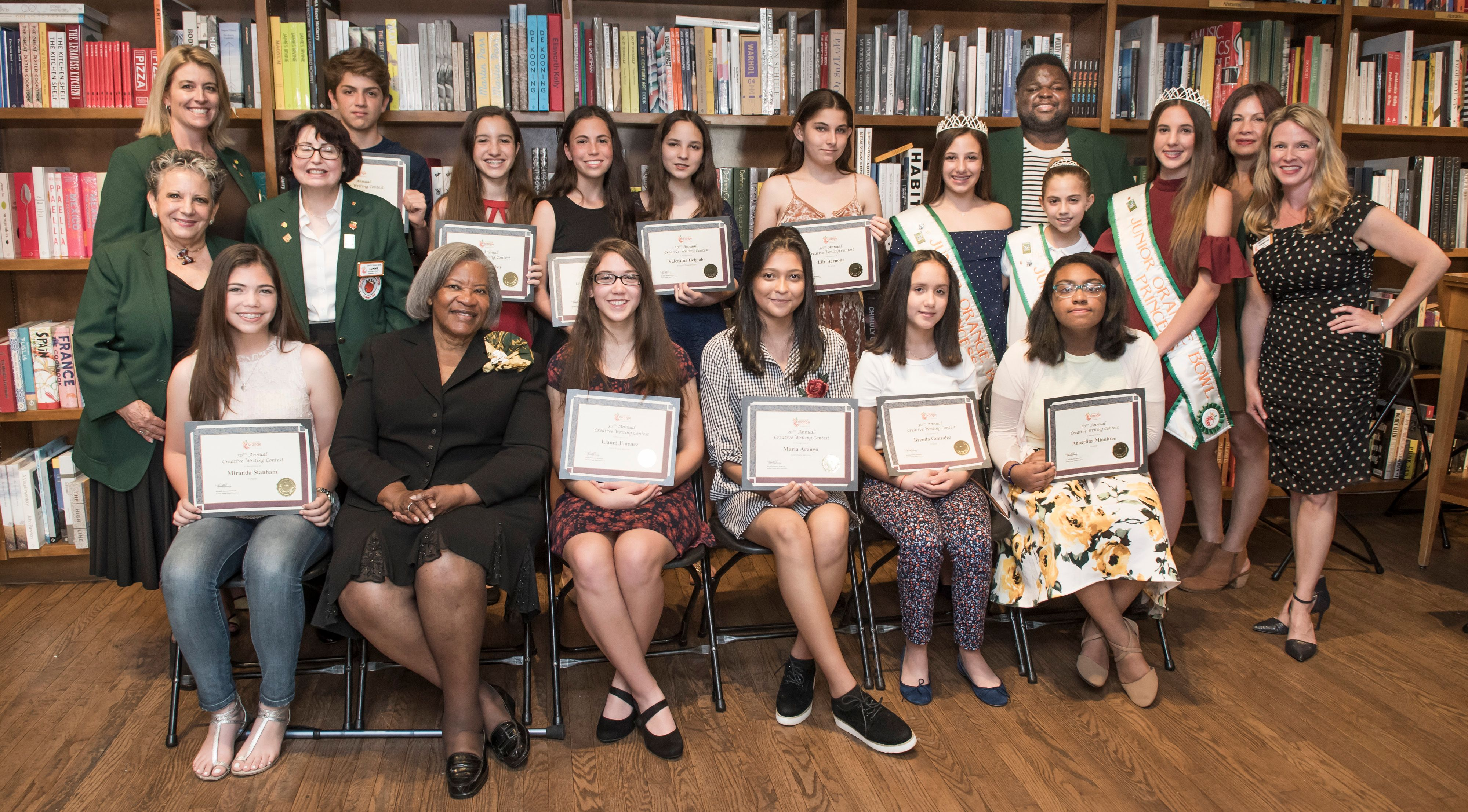 Junior Orange Bowl Student Essay Finalists and Winners to be Announced  at Books and Books Ceremony February 10th at 1 pm