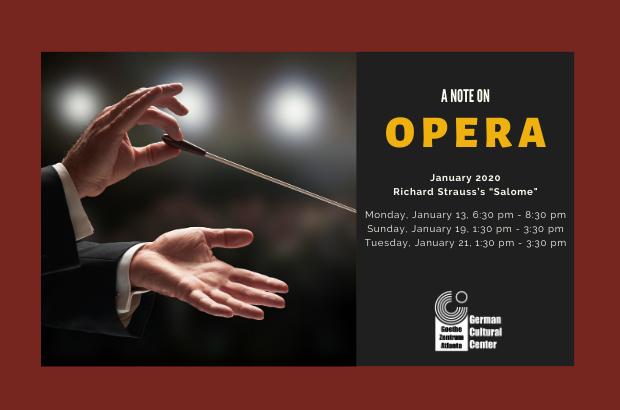 "A Note on Opera: Richard Strauss's ""Salome"""
