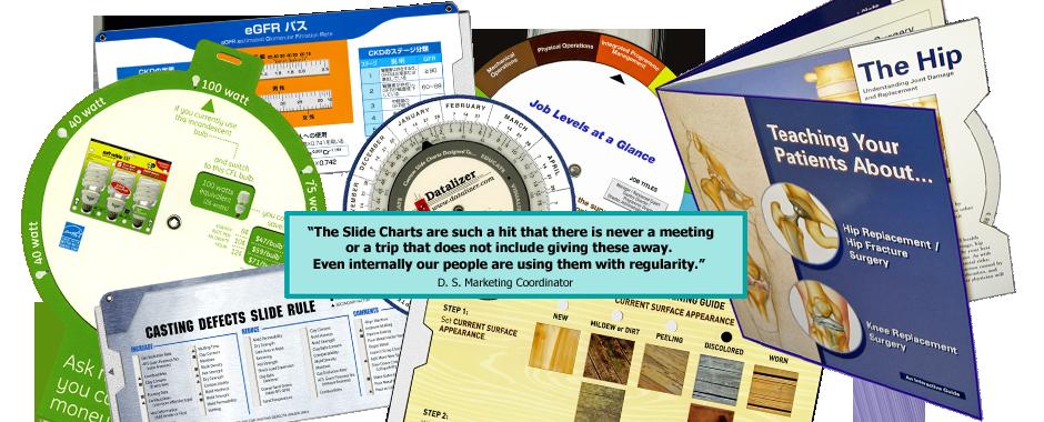 Slide Chart Testimonial
