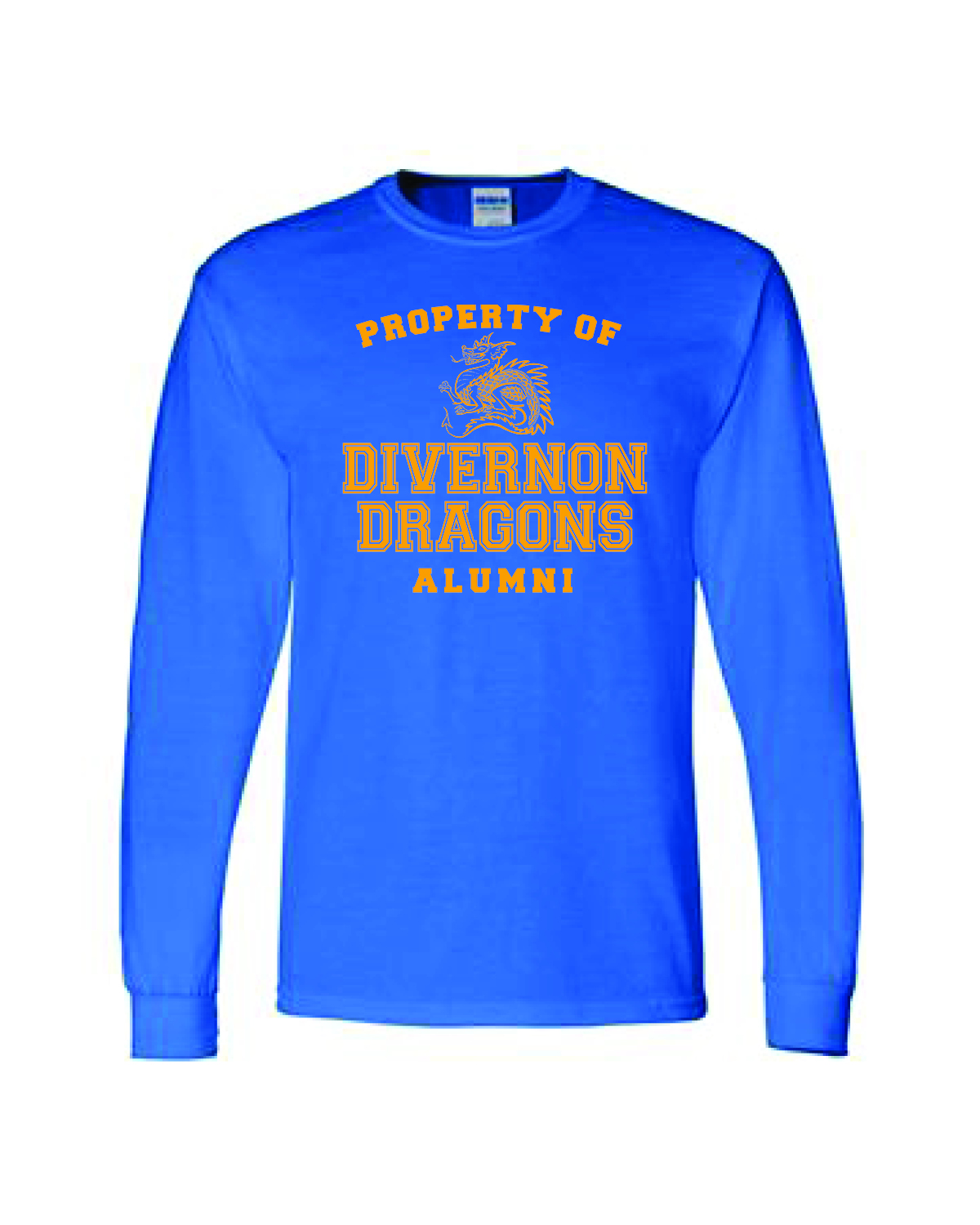 LONG SLEEVE - BLUE