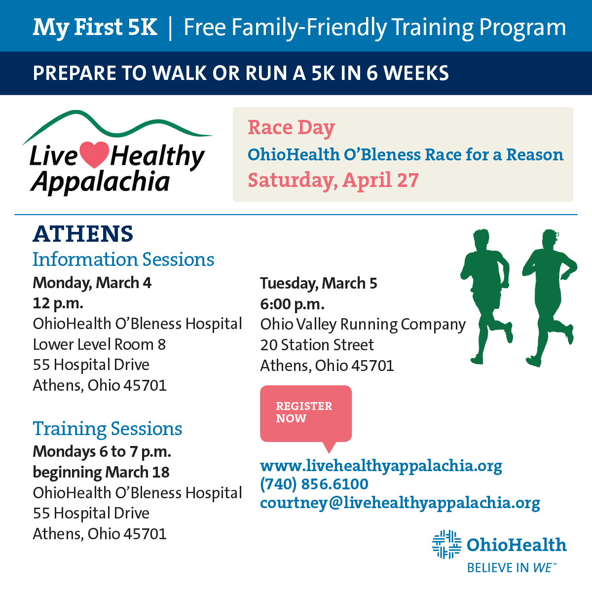 News & Events : Event Calendar - Live Healthy Appalachia