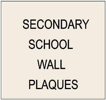 Y34700 -  Carved High-Density-Urethane and Wood Wall Plaques for Secomdary and Prep Schools (Logos, Coats-of-Arms, Emblems, Crests, Seals)
