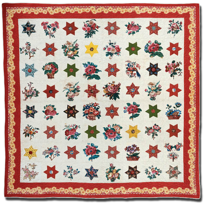 Star, Maker unknown, Possibly made in Pennsylvania, United States, Circa 1935-1955, 84.5 x 82 in, IQSC 1997.007.0387