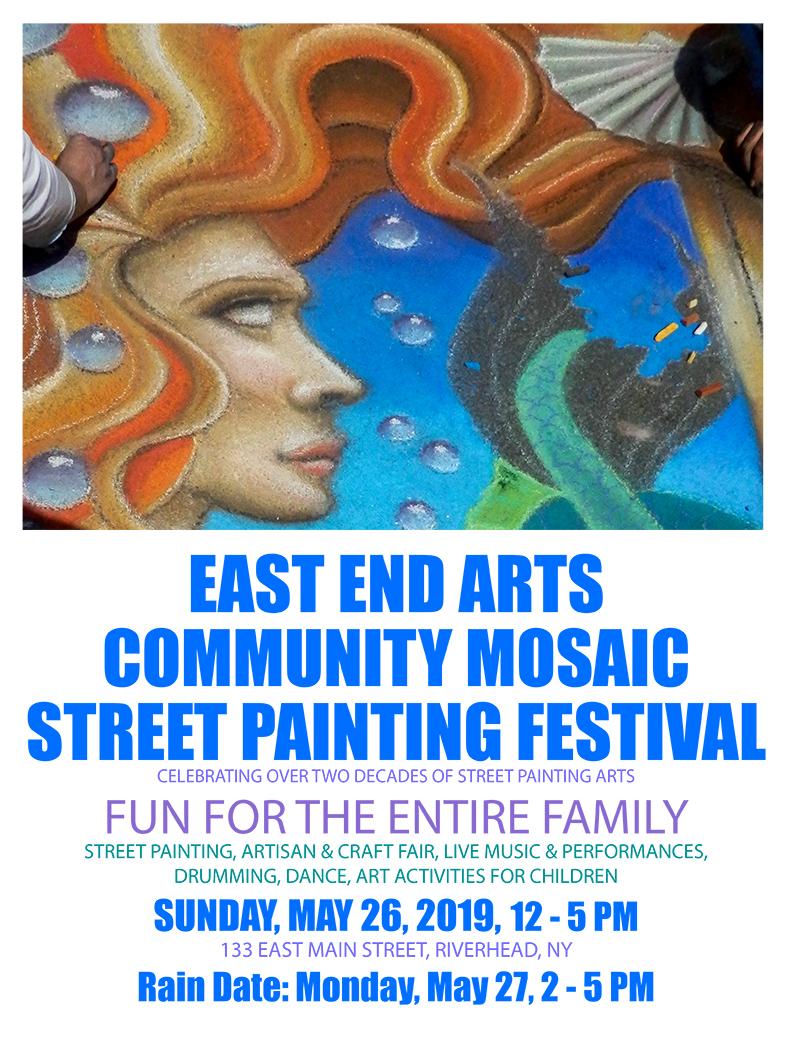 East End Arts : Programs & Events : Community Mosaic Street