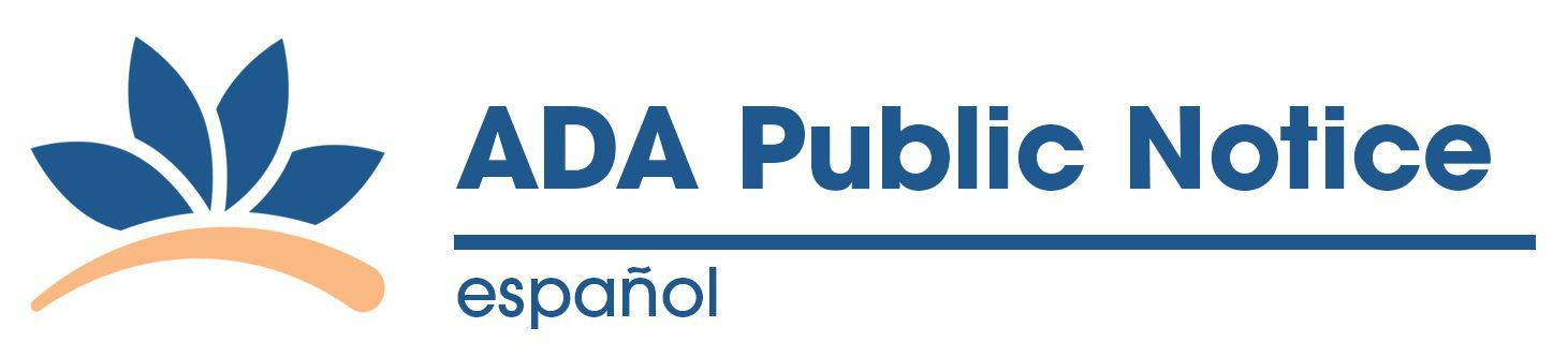 ADA Public Notice - spanish