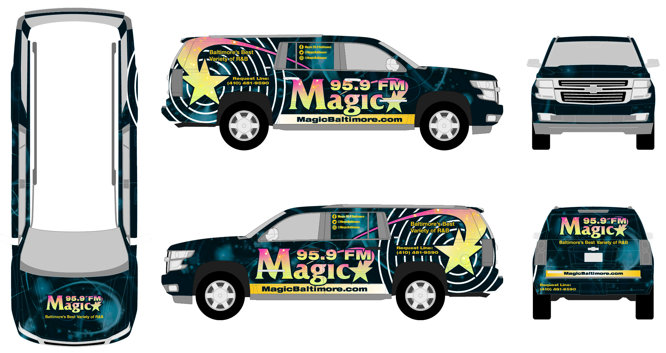 Check out our blog article on graphic design tips for vehicle wraps!