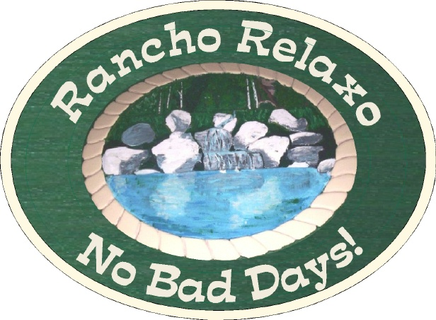 M22104- Sign for Rancho Relaxo