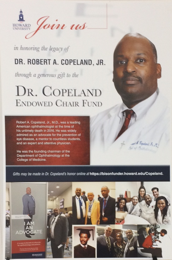 OPHTHALMOLOGY DEPARTMENT KICKS OFF CAMPAIGN TO ENDOW THE DR. ROBERT COPELAND CHAIR