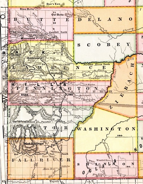March 2016 - South Dakota's Ghost Counties