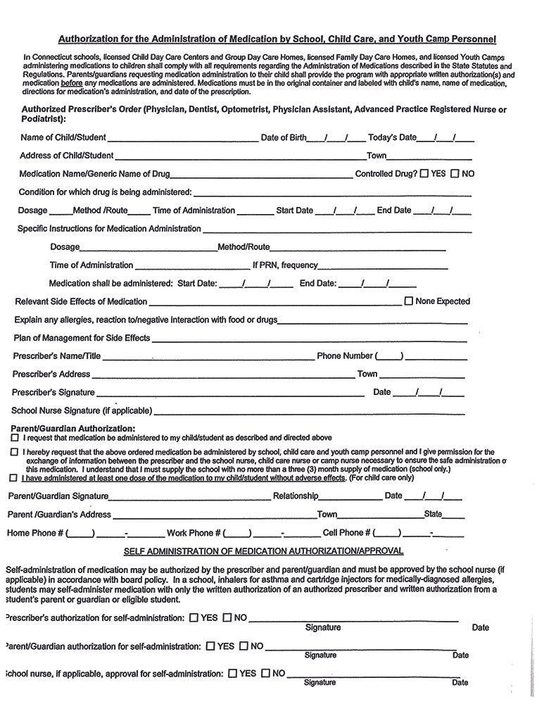 Medication Forms