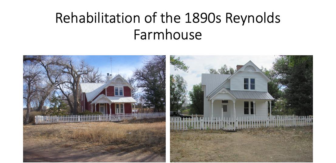 Reynolds Ranch House Update