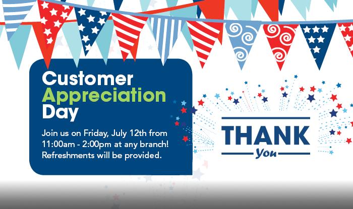 Customer Appreciation Day - Union Bank & Trust