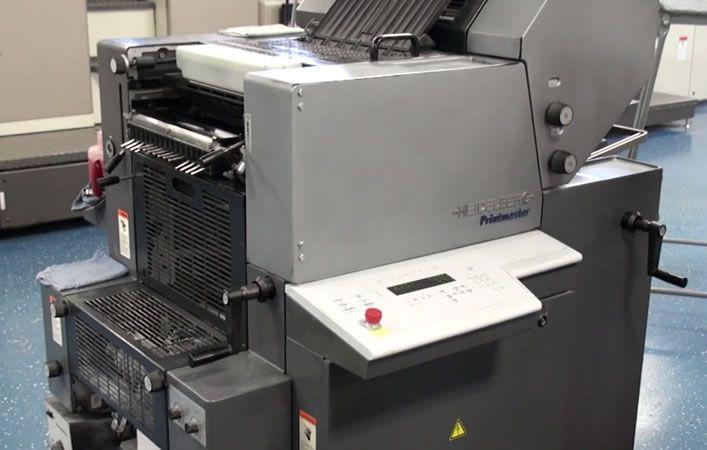Heidleberg Printmaster QM 46