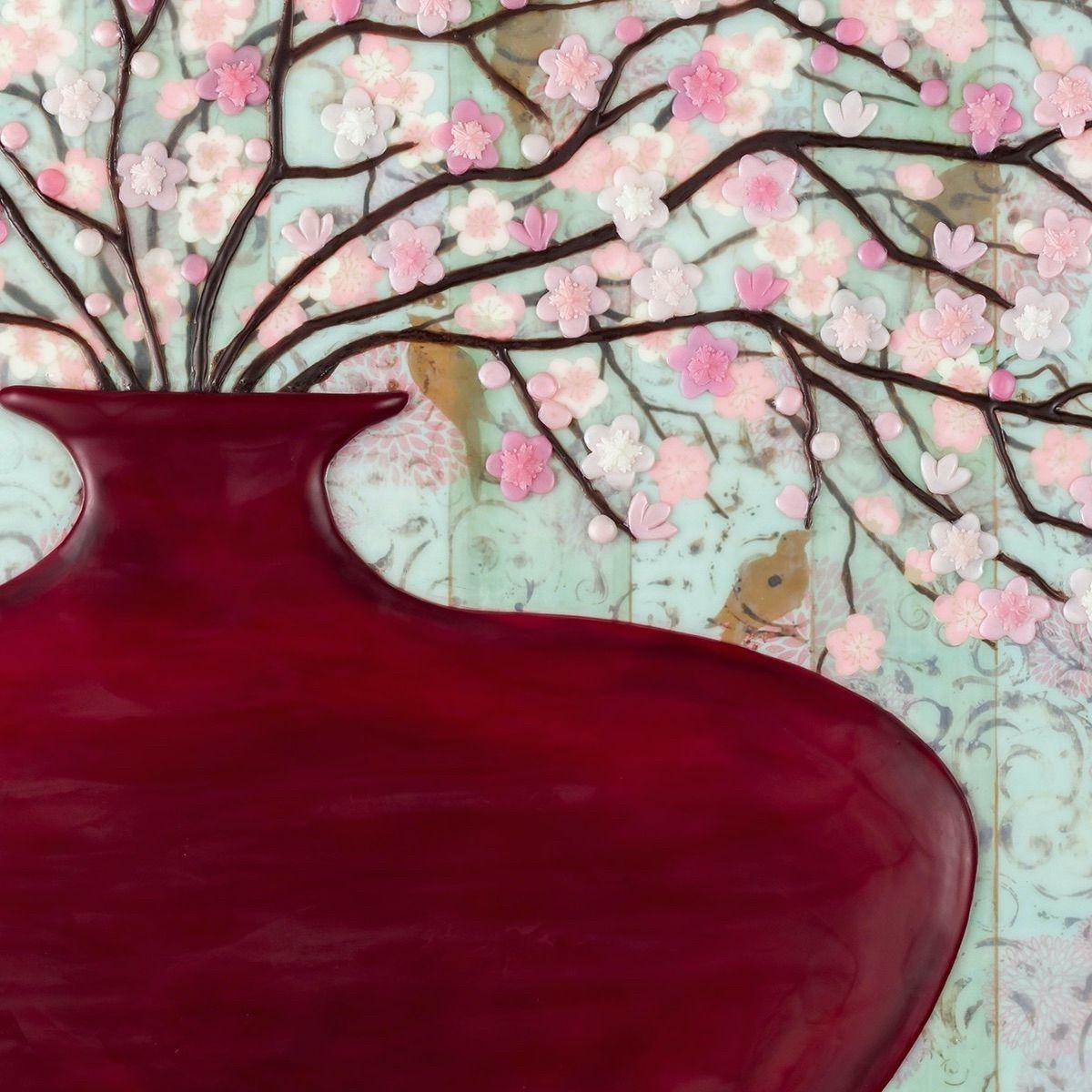 Cherry Blossoms (partial image)