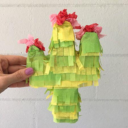 Mini Cactus Pinatas