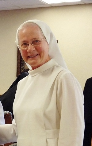 Sister of the Month- Sr. Monica Backes October 2015