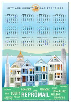 ReproMail 2021 Calendar