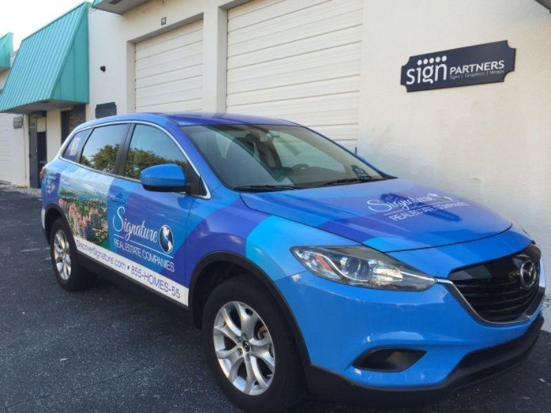 Full Car Wraps - Sign Partners Boca Raton