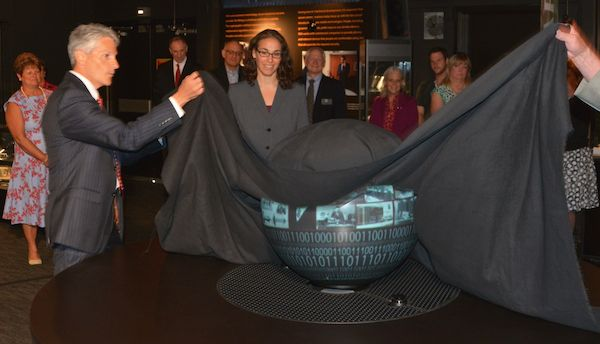Unveiling of Magic Planet at NCM