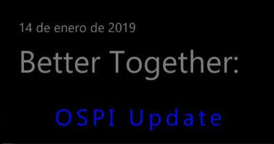 Video: OSPI Update (Spanish)