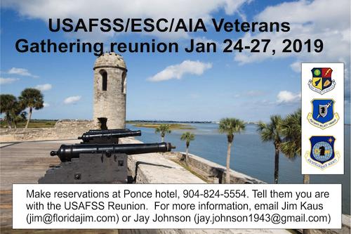 USAFSS/ESC/AIA Veterans Reunion/Gathering in Florida