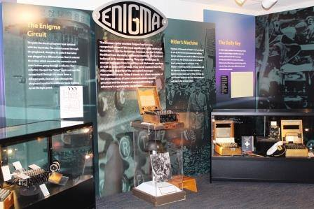 Enigma exhibit at National Cryptologic Museum