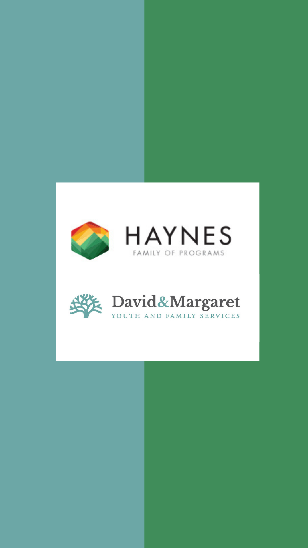 HAYNES FAMILY OF PROGRAMS AND DAVID & MARGARET AND AFFILIATES ANNOUNCE INTENT TO MERGE