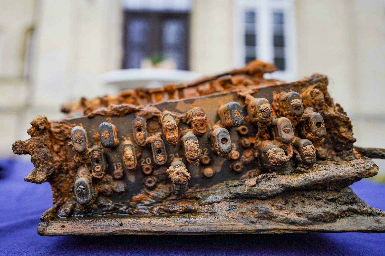 German divers find Nazis' Enigma code machine in Baltic Sea
