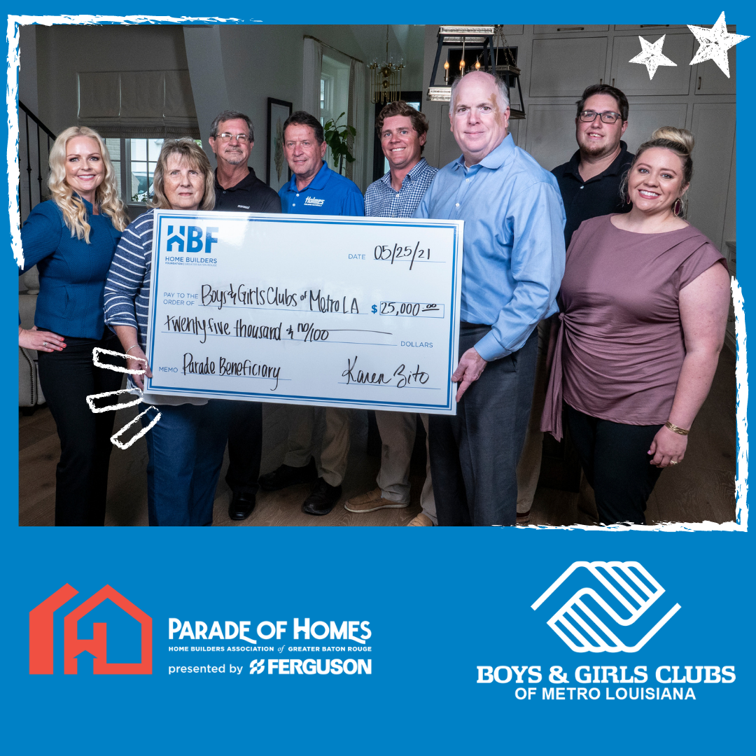 2021 Parade of Homes Raises $25,000 for Boys & Girls Clubs