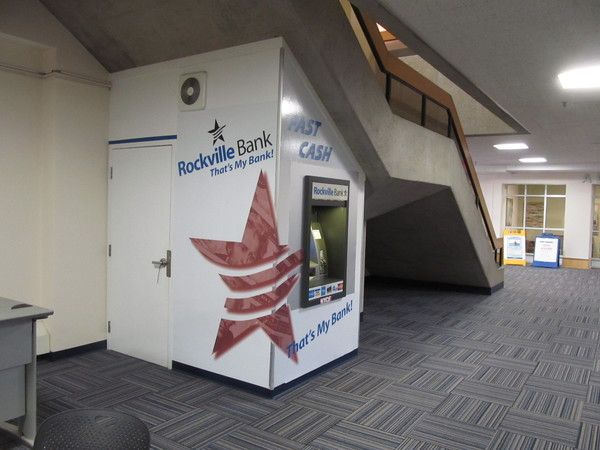 Interior Hallway / Lobby Signage, ATM Decorative Logo Graphics