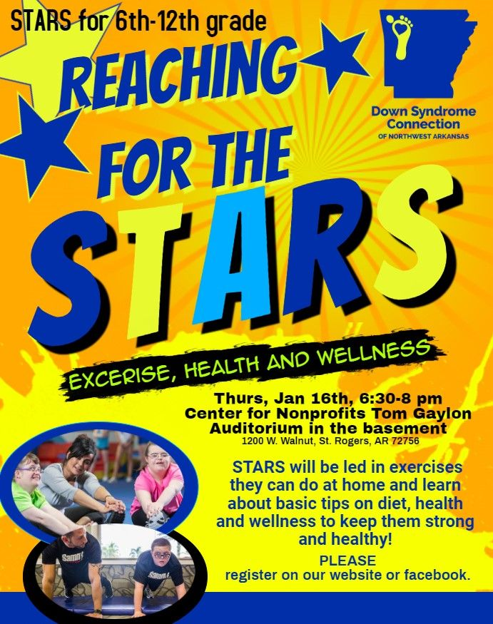 Reaching for the STARS! Exercise, Health and Wellness