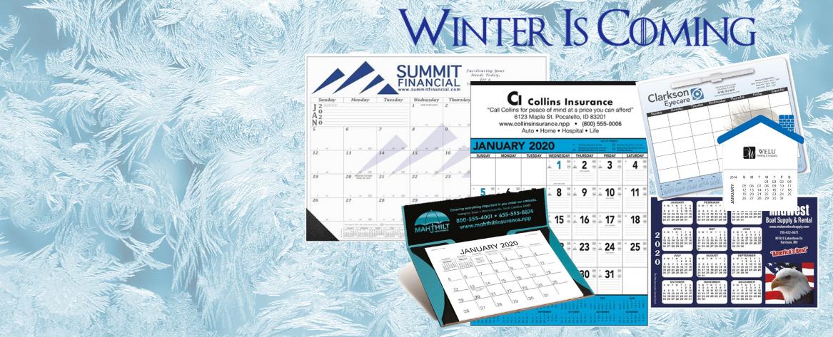 Order your 2020 Calendar