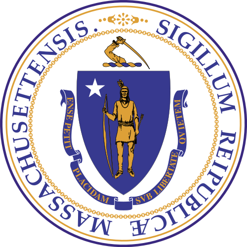 W32260 - Great Seal of Massachusetts Wall Plaque