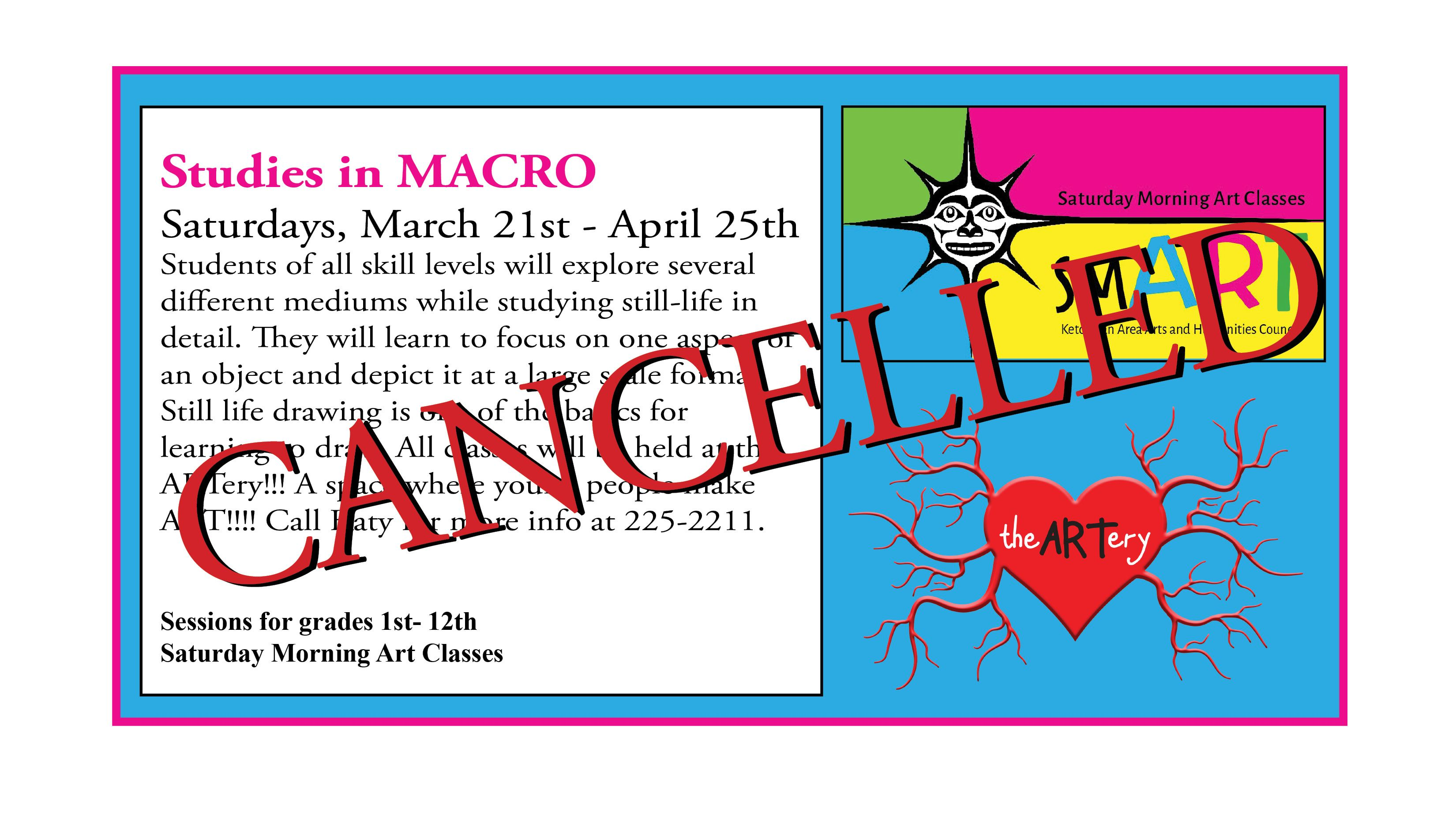 Canceled smART Class with Loren McCue