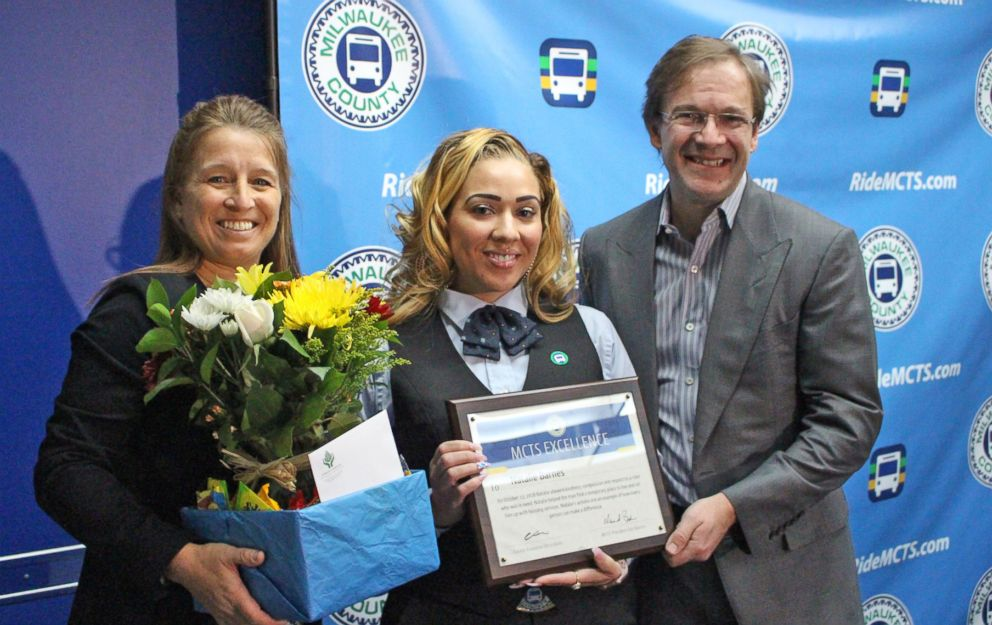 MCTS Driver Praised for Helping a Rider Find Shelter