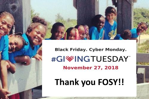 FOSY Outreach Makes Giving Tuesday a Success!