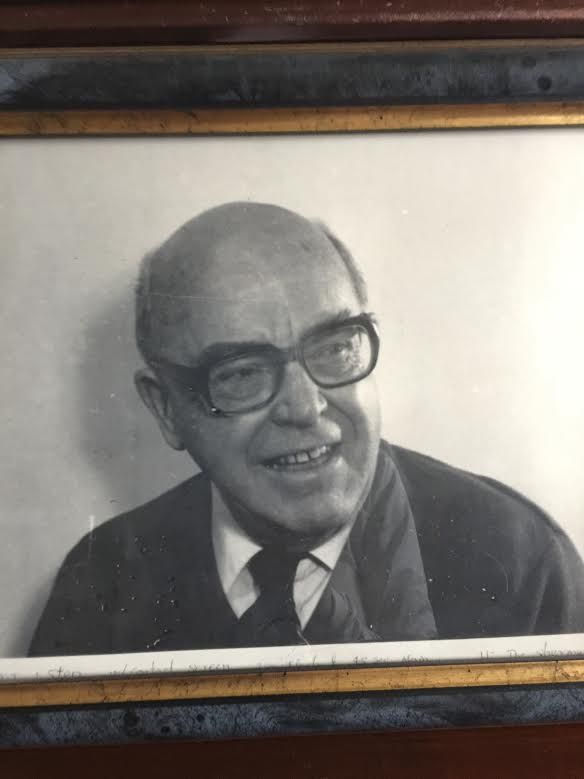 Dad - the Professor
