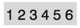 #5546 6 Band Numberer